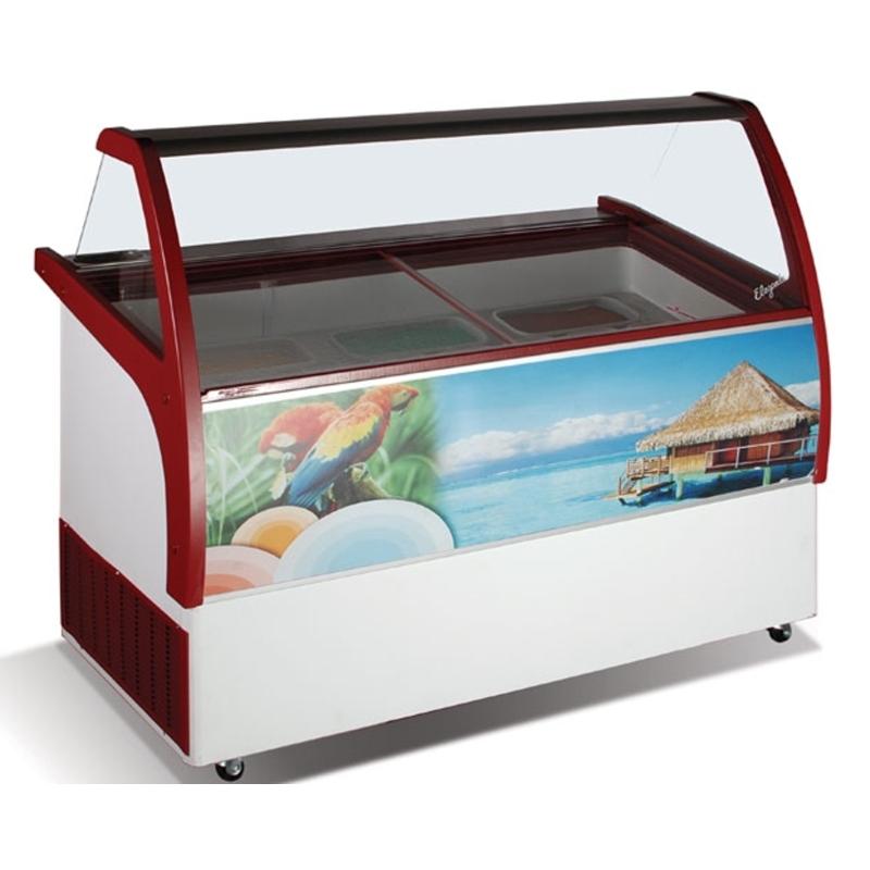 Zmrzlinová vitríny
