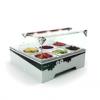 Barová vitrína na posypy SAYL TBM - Příslušenství ke zmrzlinovým strojům